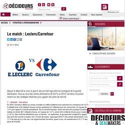 Le match : Leclerc/Carrefour