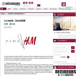 Le match : Zara/H&M