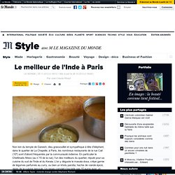 Le meilleur de l'Inde à Paris