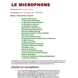 Le Microphone - Pierre VOYARD