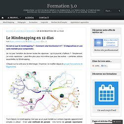 Le Mind Map en 12 dias - Trouve ta voie