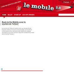 Le mobile 2.0 édition 2010