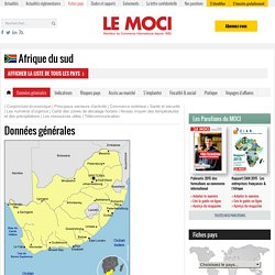 Afrique du sud - Moniteur du Commerce Internationnal
