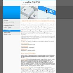 Le modèle RIASEC