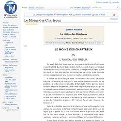 Le Moine des Chartreux