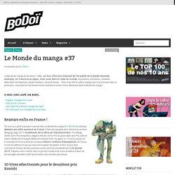 Le Monde du manga #37