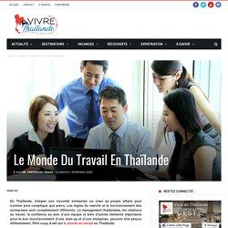 Le monde du travail en Thaïlande