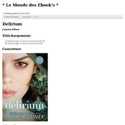 Delirium 1