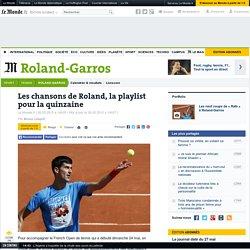 Chansons sur le tennis