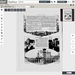 """Le Monde illustré : 1920-05-15 - """"NOTRE BELLE et DOUCE FRANCE"""""""