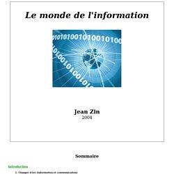 Le monde de l'information