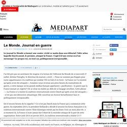 Le Monde. Journal en guerre