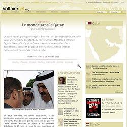 Le monde sans le Qatar