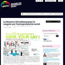 Le Mouves à Strasbourg pour le congrès sur l'entrepreneuriat social