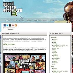 Le multijoueur dans GTA 5 / GTA V