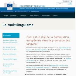 Le multilinguisme