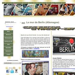 Le mur de Berlin Street-art