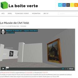 Le Musée de l'Art Volé