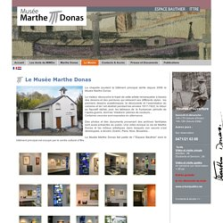 Le Musée Marthe Donas