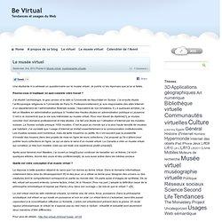 Le musée virtuel