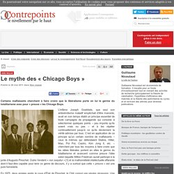 Le mythe des « Chicago Boys »