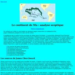 Le mythe de Mu