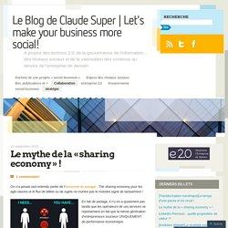 Le mythe de la «sharing economy !
