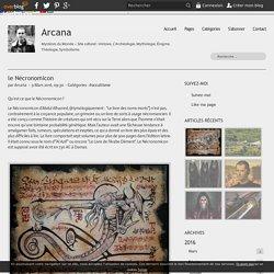 le Nécronomicon - Arcana