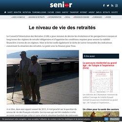 Le niveau de vie des retraités