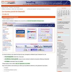 Le nouveau portail de Sésamath