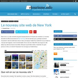Le nouveau site web de New York