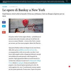 Le opere di Banksy a New York