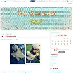 Le p'tit mousse - Miss Grain de Sel