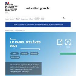 Le Panel d'élèves 2021