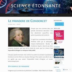 Le paradoxe de Condorcet