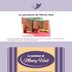 Le paradoxe de Monty Hall