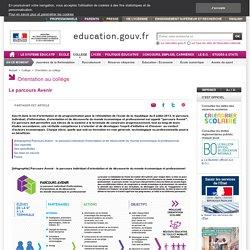 PIIODMEP : parcours individuel d'information et de découverte du monde économique et professionnel