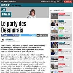 Le party des Desmarais