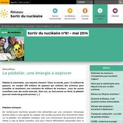 Sortirdunucléaire.org - Différents systèmes à pédaliers