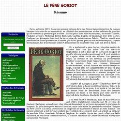 Le père Goriot - H. de Balzac