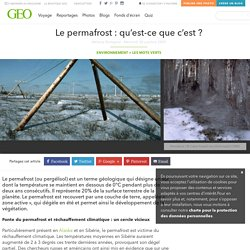 Le permafrost