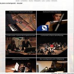 Le piano contemporain » Écouter