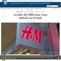 Le plan de H&M pour vous séduire sur le web