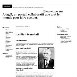 Discours Marshall 1947