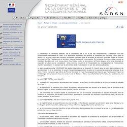 Secrétariat général de la défense et de la sécurité nationale - Vigilance, prévention, protection : le plan Vigipirate