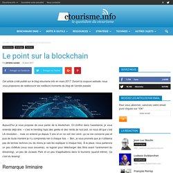 Le point sur la blockchain