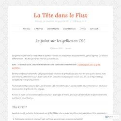 Le point sur les grilles en CSS – La Tête dans le Flux
