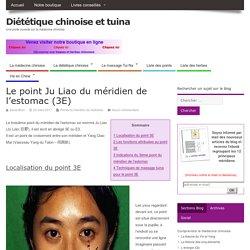 Le point Ju Liao du méridien de l'estomac (3E)