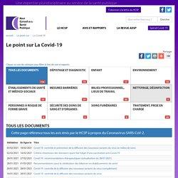 HCSP - Le point sur la Covid-19