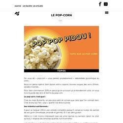 Le pop-corn – LA MINUTE PAPILLON